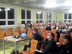 Debata o okolí Pavilonu 24. 11. 2016